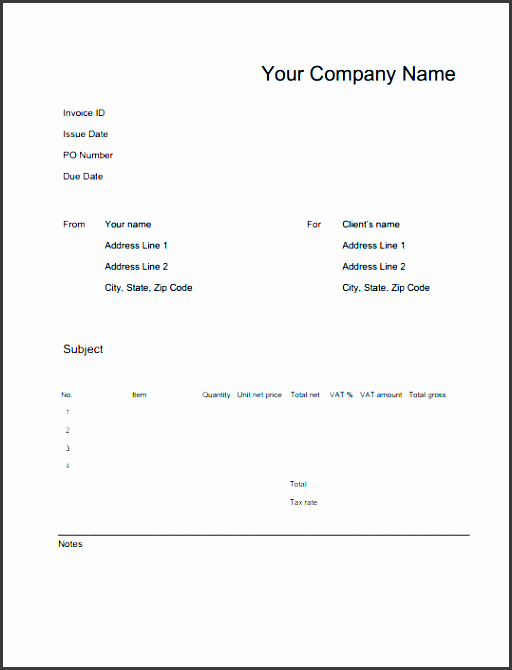 online invoices invoicing software invoice generating in blank template google