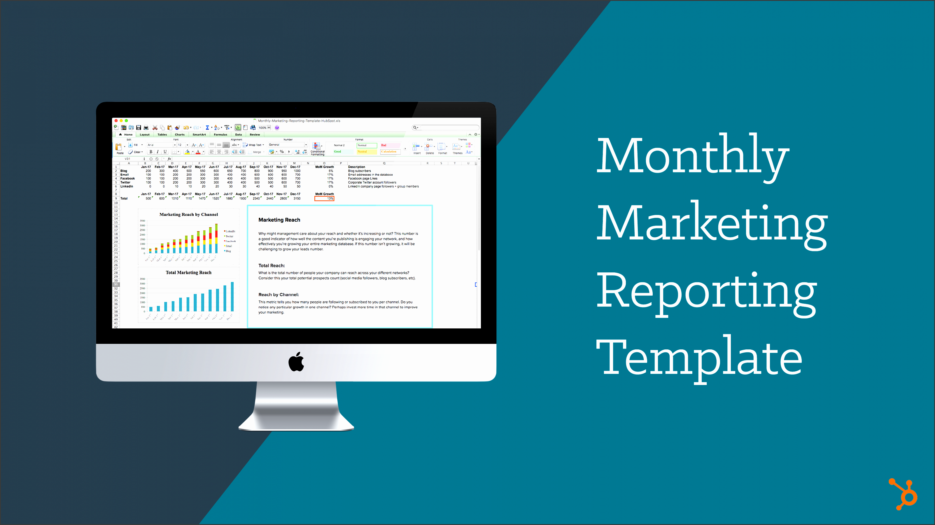 monthly marketing reporting template 1 t