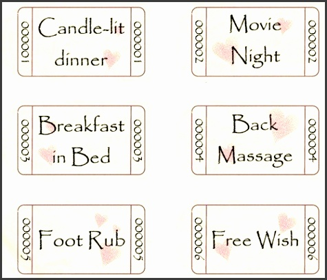 romantic coupons