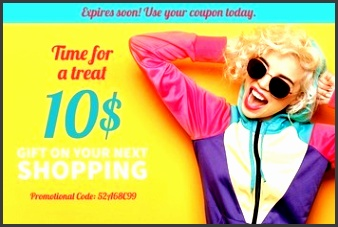 clothing coupon