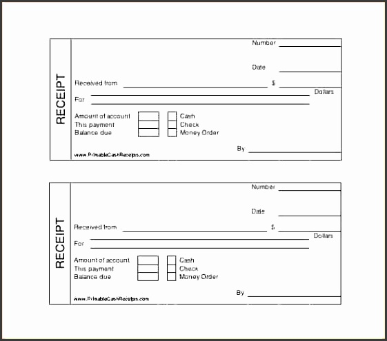 10 credit card receipt template