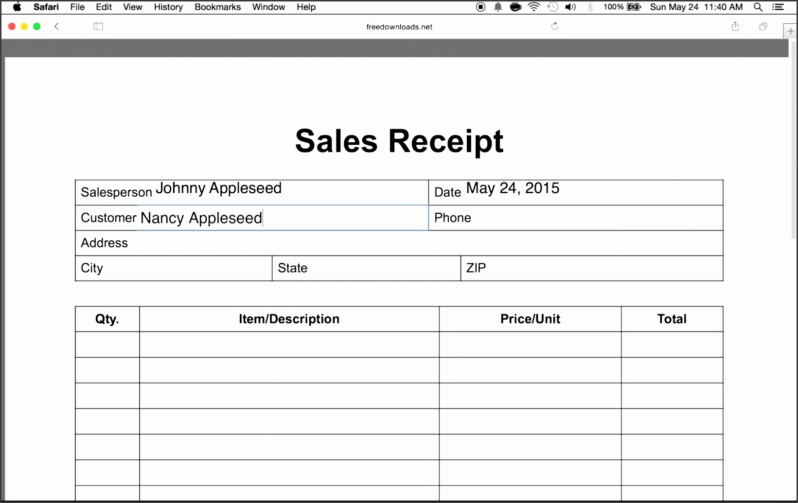 how to write an itemized sales receipt form youtube maxresde word document for payment template free i 94 printable sample online pdf