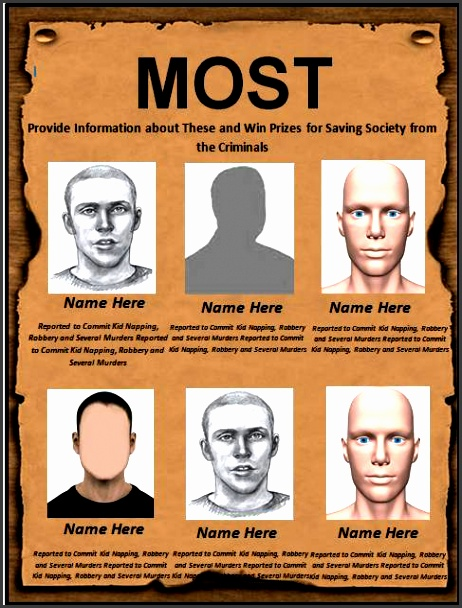 printable most wanted poster template 01