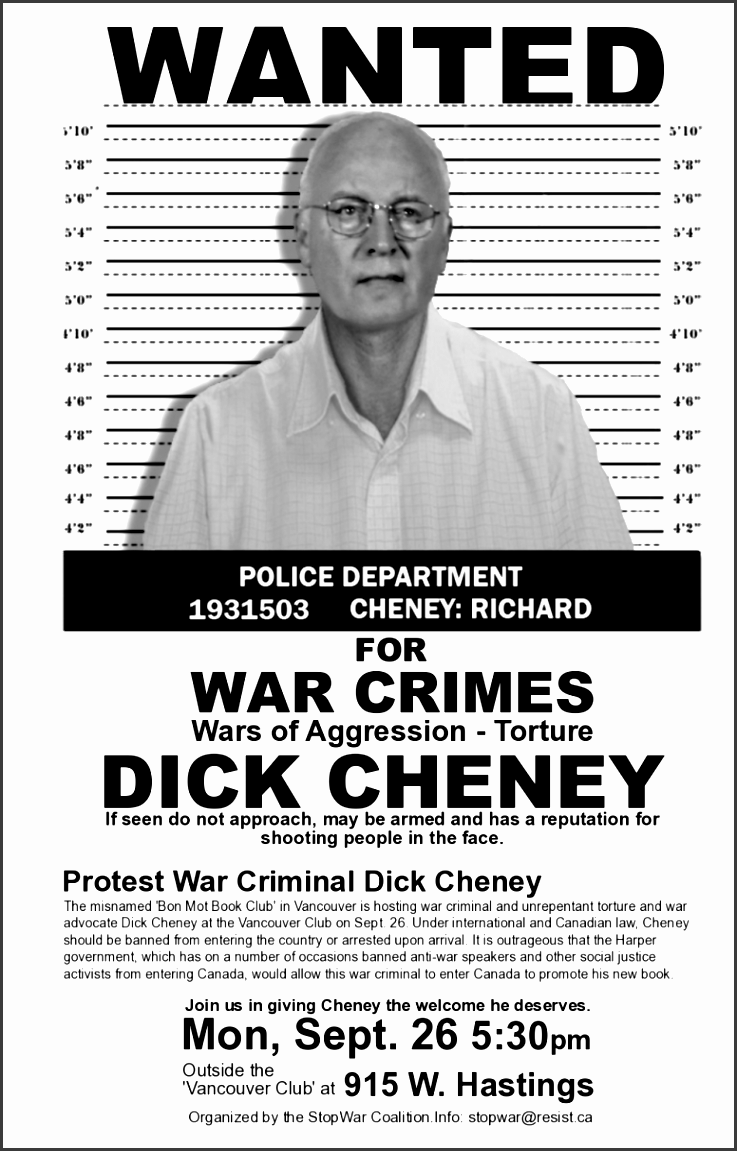 criminal wanted poster reference template resume business roadmap cheneywanted2011poster1 criminal wanted poster