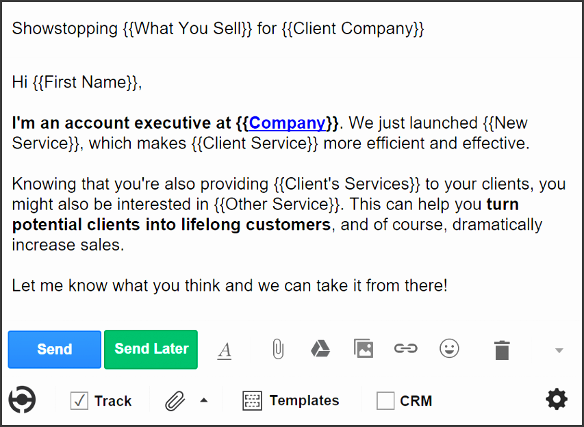 5 cold email templates for sales no intro