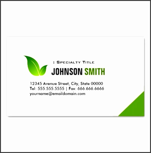 green ecology bio elegant organic recyclable business card templates