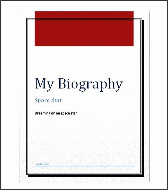 bonus biography template 03