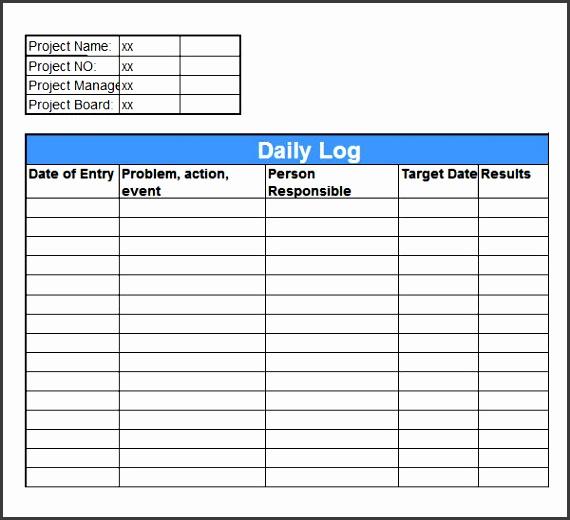 excel log sheet template 28 images 5 log sheet templates log sheet excel 8 mileage log templates free word