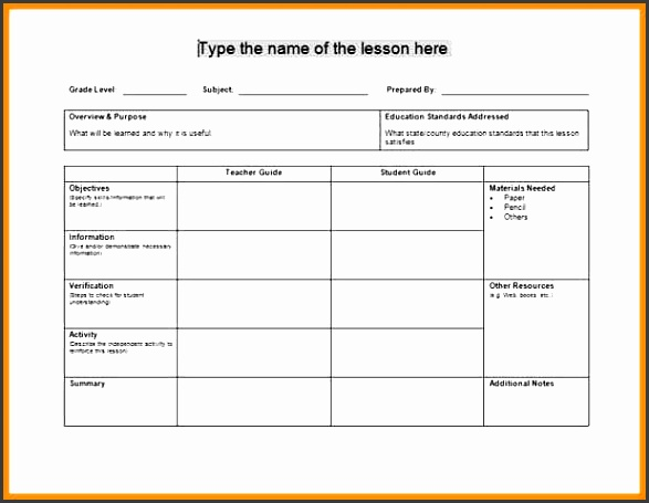 daily lesson plan template daily lesson plan template daily