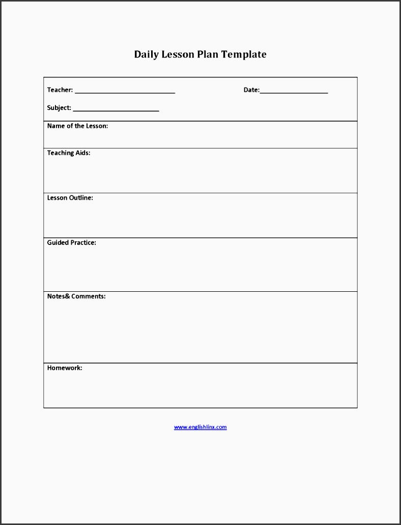 englishlinx lesson plan template teachers plans examples