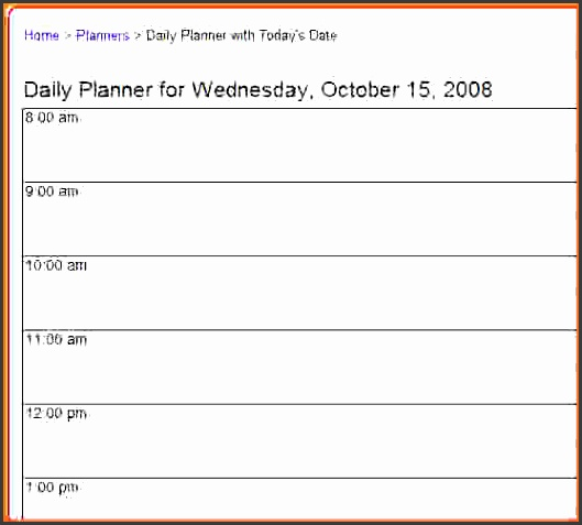 daily planner onlineintable daily planner