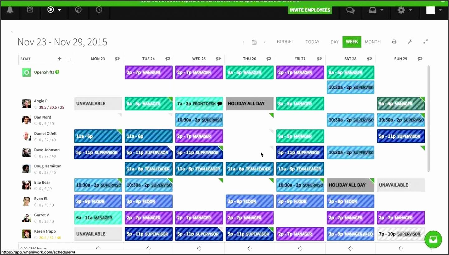 8 Daily Work Schedule Maker - SampleTemplatess ...