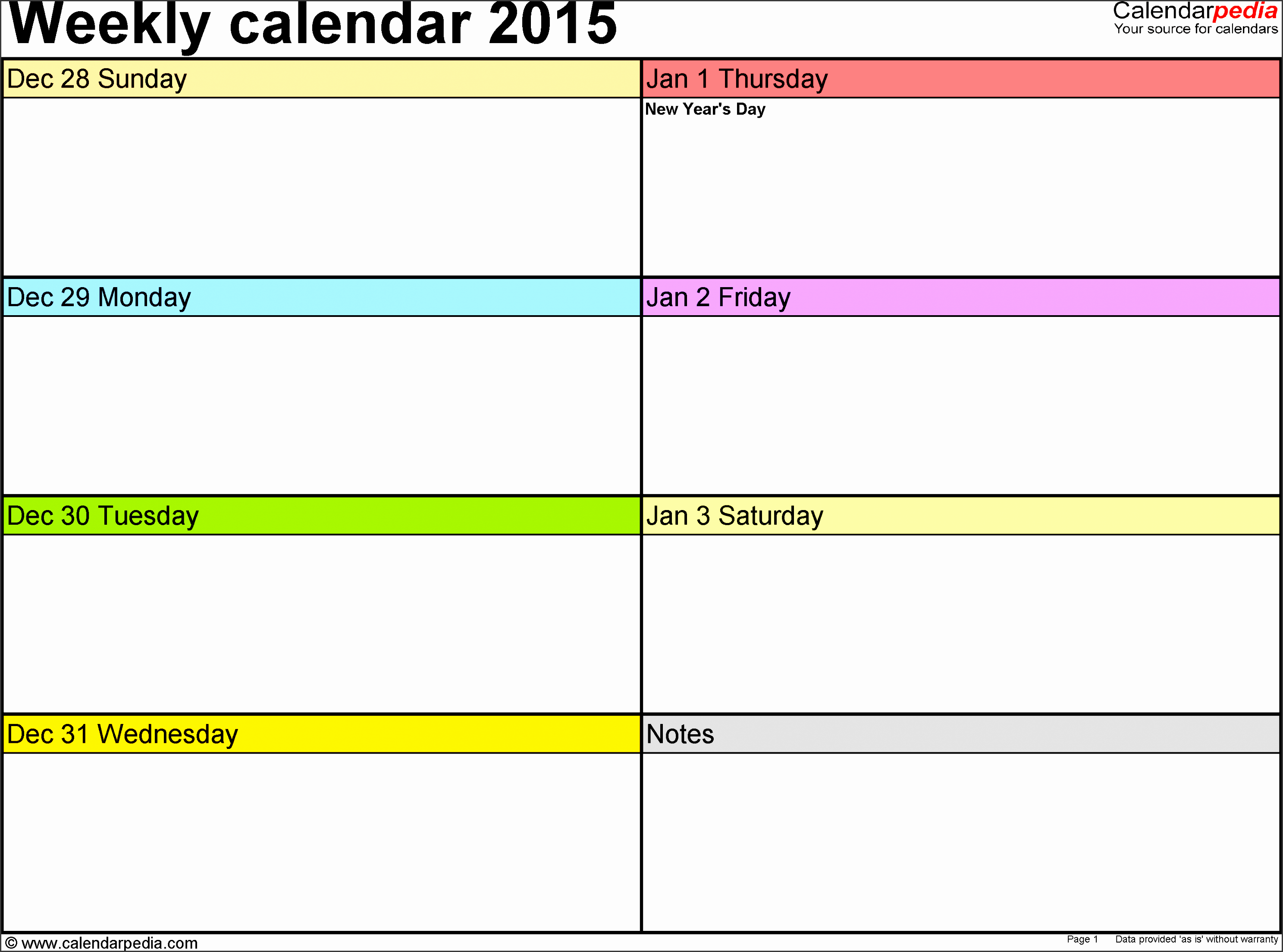 free weekly calendar template weekly calendar printablenew