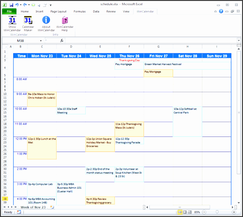 calendar maker creator for word and excel make a work schedule tem