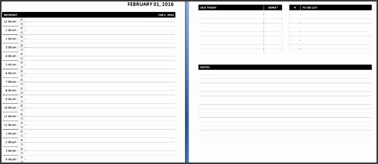 daily calendar template word daily weekly ms word planner templates office templates online