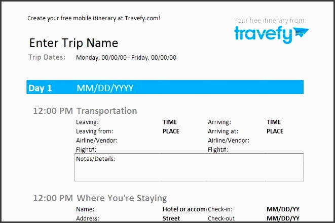 travel itinerary how to make an itinerary tripit use our free trip planner to a personalized day by day itinerary for your vacation