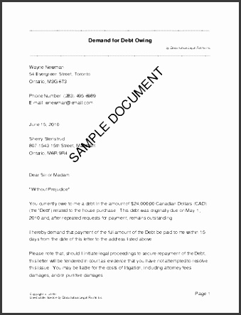 letter of demand template demand letter template for owed money demand note template