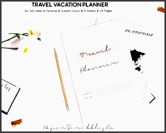travel planner vacation planner trip planner vacation organizer holiday planner family