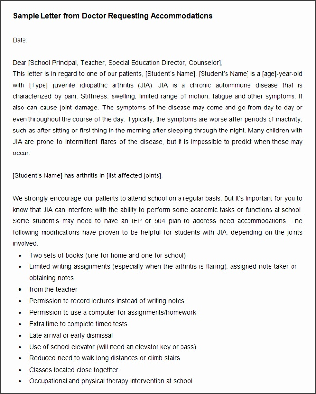 this is a detailed doctor letter template which will enable you to explain your typical medical case in full detail the letter would be sent on behalf of