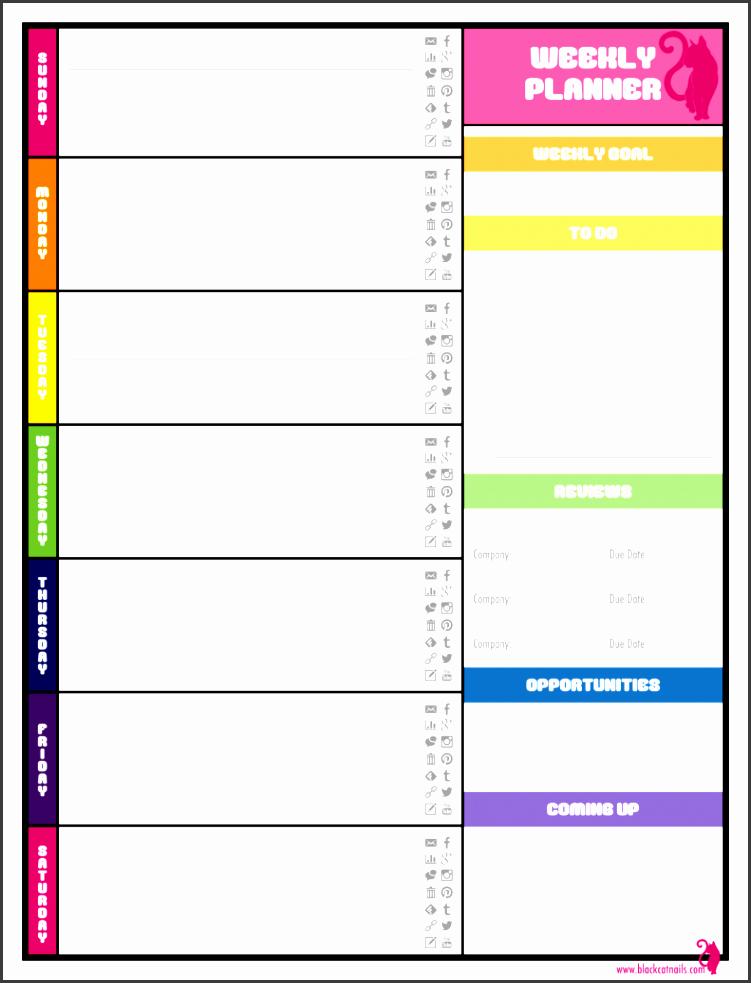 weekly agenda planner template 3 791x1024