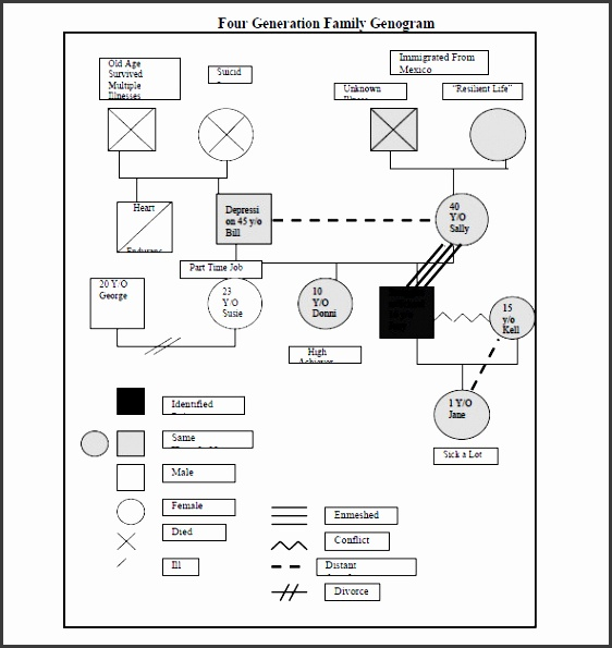 genogram template powerpoint sample genogram template 15 free documents in pdf word printable