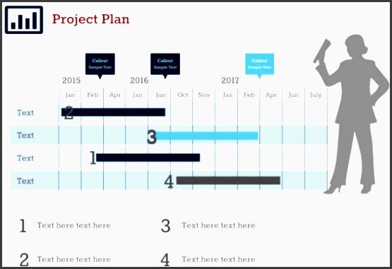 project plan 5 google slides template ppt