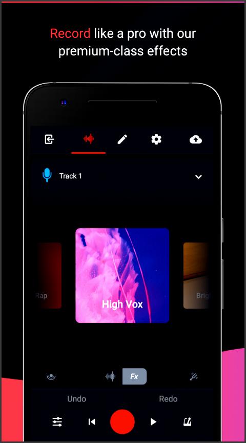 bandlab social music maker and recording studio screenshot