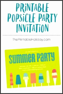 perfect for a hot summer day this printable invite is easy to edit