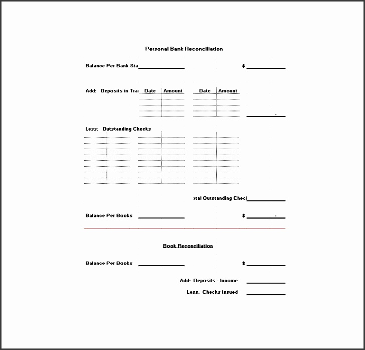 10 easy to use bank statement template