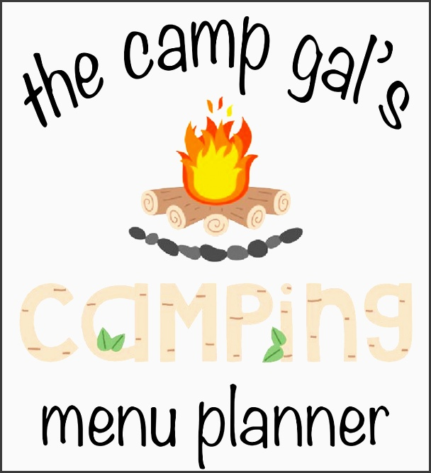 menu planner for camping perfect weekend trips