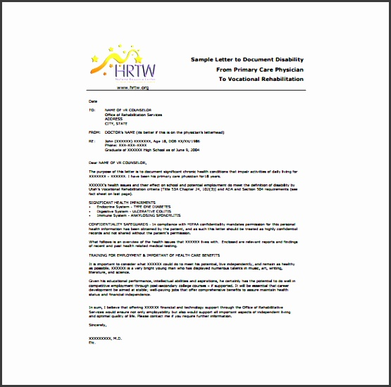 sample primary care doctor letter template