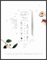 wedding timeline program template order of events ceremony program 100 editable