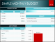 7 Editable Family Monthly Budget Planner