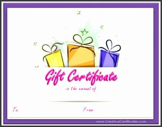 9 Editable Gift Certificate Template - SampleTemplatess ...
