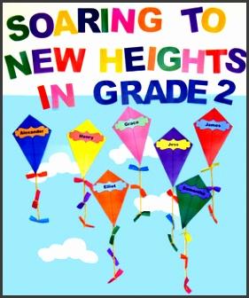 kites classroom display bundle editable back to school