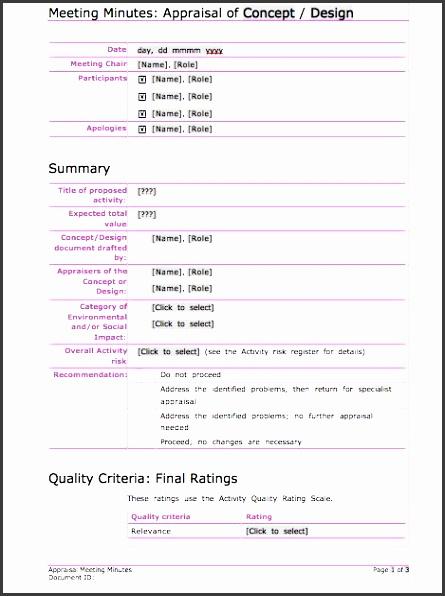printable meeting minutes template 05