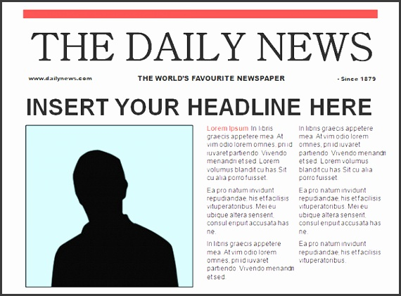 powerpoint newspaper template newspaper template 42 free documents in pdf ppt word