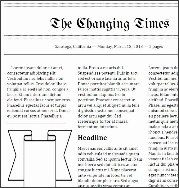 docs newspaper template by tools that make it click doc newspaper templates