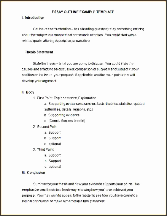 microsoft word outline templatesay outline example free word doc editable