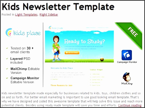 6 free email templates