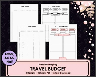 printable travel bud travel journal travel bud planner travel planner printable travel