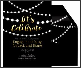 string lights invite invitation