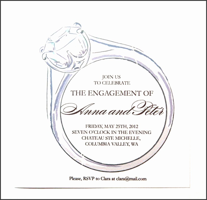 engagement party invitation templates is one of the best idea to make your own party invitation design 1