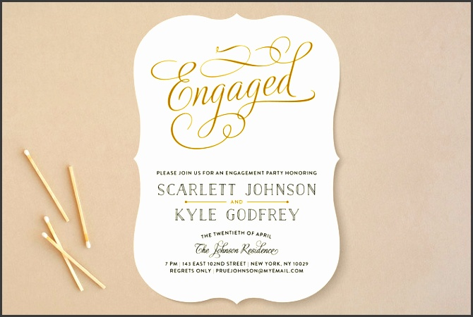 minted s chic engagement engagement party invitations