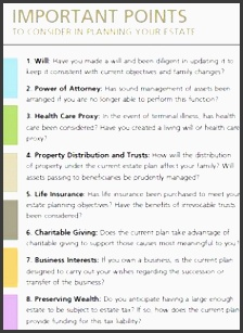 the importance of an estate planning checklist