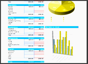 event bud planner excelÂ