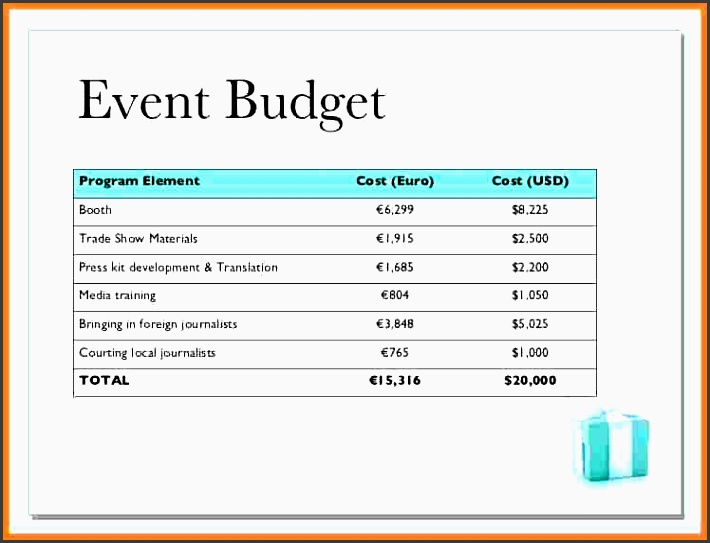 9 event bud proposal template bussines proposal 2017