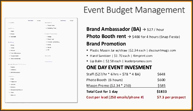 5 event bud proposal template proposal template 2017