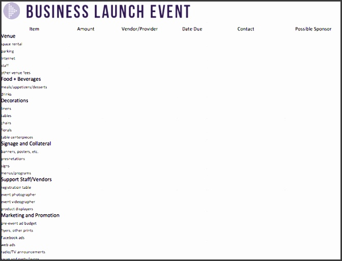 event bud spreadsheet template by 10 best images of entertainment bud templates event