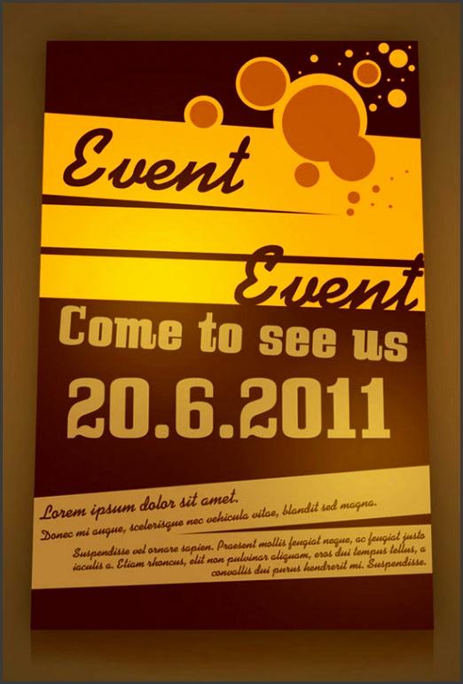 30 event flyer ideas